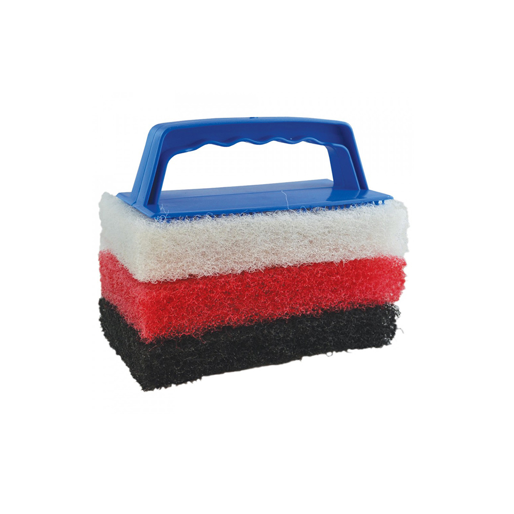 STARBRITE Scrub Pad Cleaning Kit inc 3 Pads