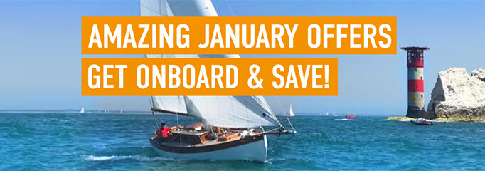 AMAZING JANUARY OFFERS - GET ONBOARD & SAVE