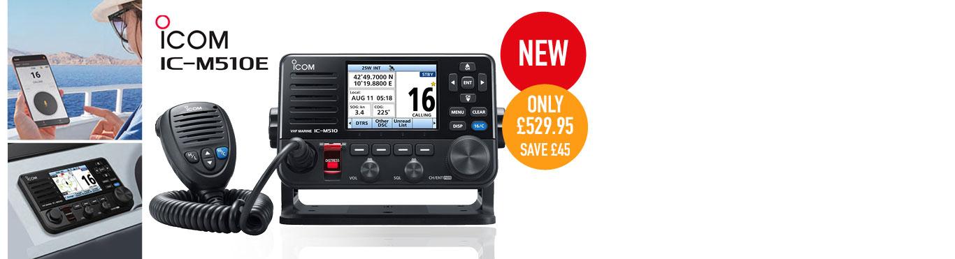 New Icom VHF with Smartphone control