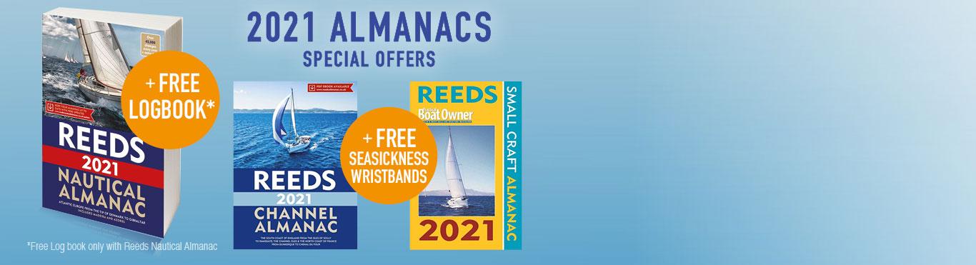 Free Log Book worth £14.95 with Nautical Almanac
