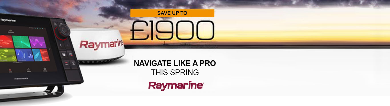 Save up to £1900 with Raymarine