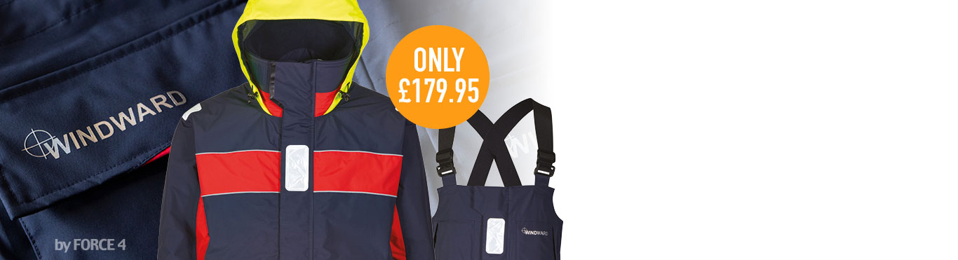 New Breathable Coastal Suit only £179.95