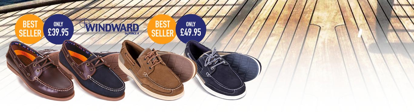 Deck Shoes from £39.95