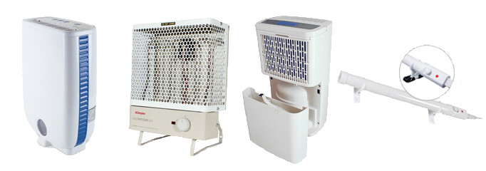 Dehumidifiers & Heaters