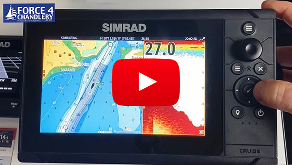 Video: Simple, standalone Simrad Cruise Chartplotter/Fishfinders