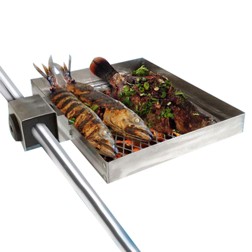 Railmount Boat Barbecue