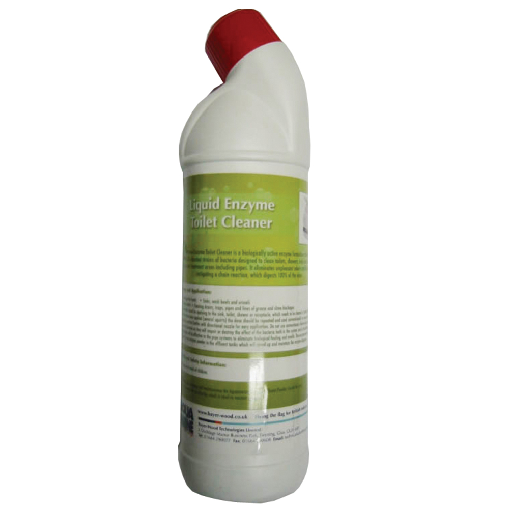 FORCE 4 Liquid Enzyme Toilet Cleaner 1Ltr