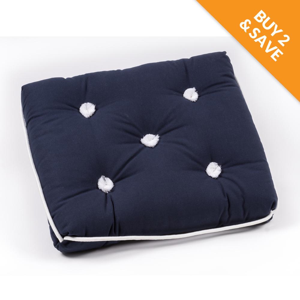 Marine Cushion Navy Single