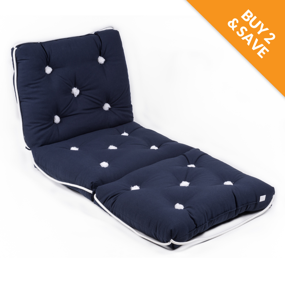 Marine Cushion Navy Triple