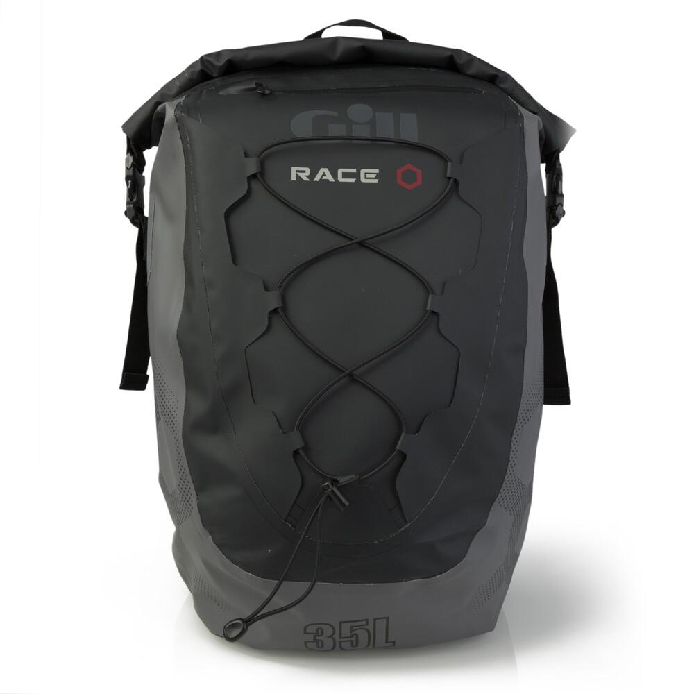 GILL Race Team Backpack - Black/Grey