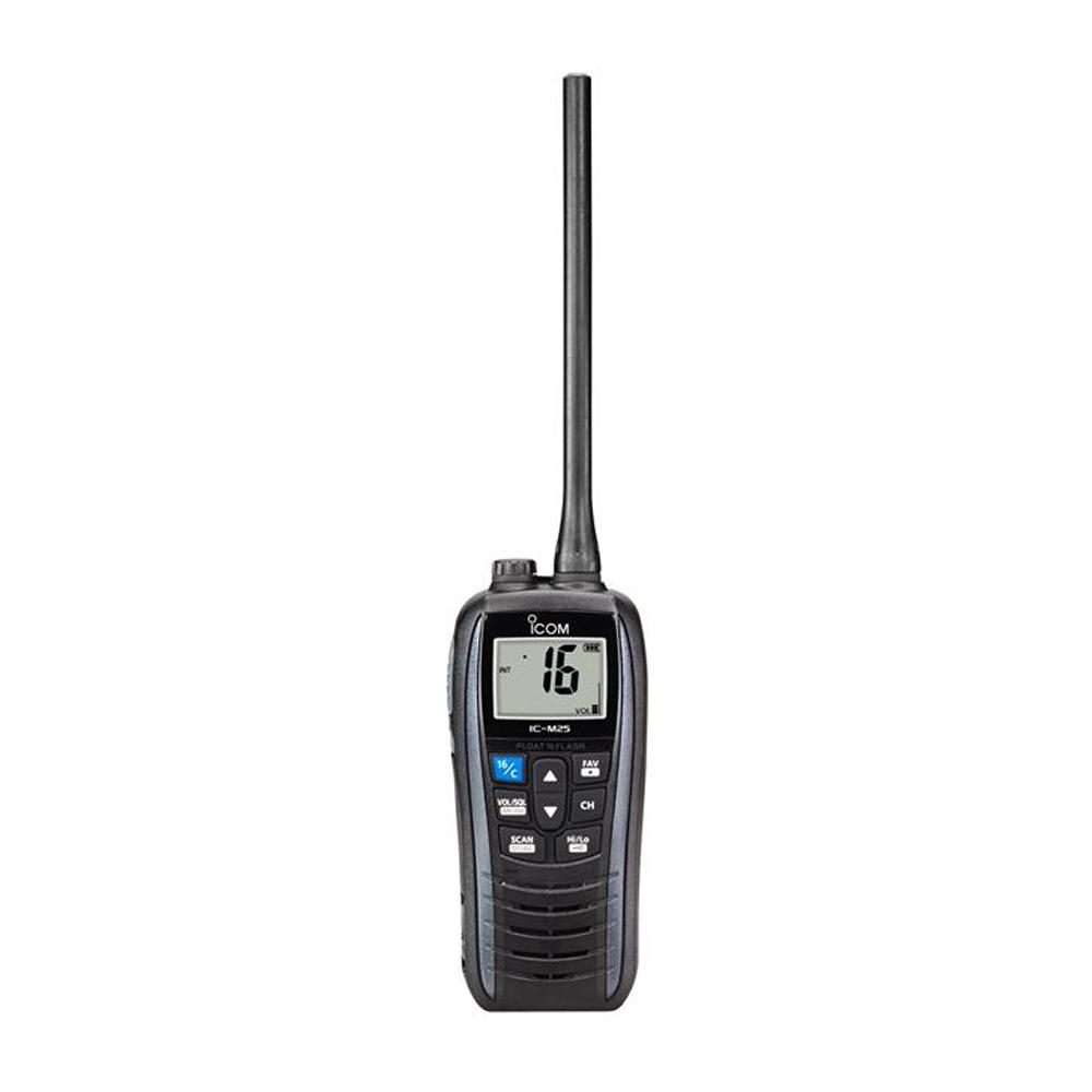 ICOM IC-M25 Euro VHF Radio - Grey
