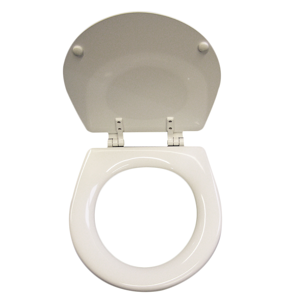 Jabsco Seat + Lid + Hinges for Compact Toilet