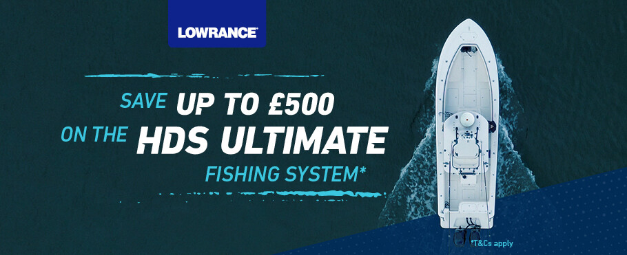 Save up to £500 on the HDS Ultimate Fishing System