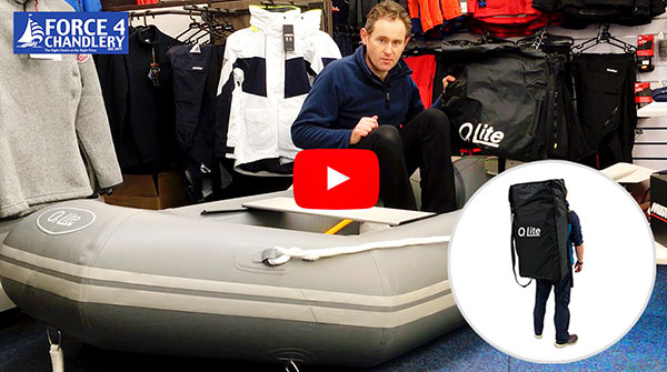 Force 4 O2 Lite - Superlight Inflatable Dinghy