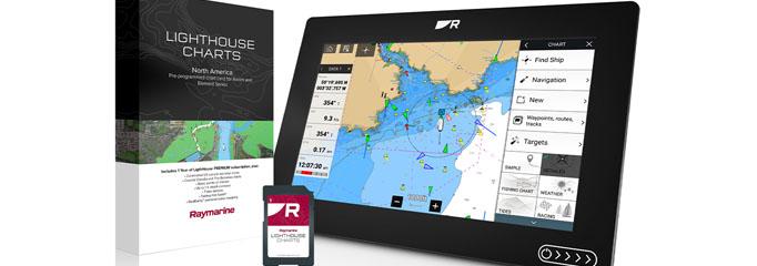 Raymarine Lighthouse Electronic Charts