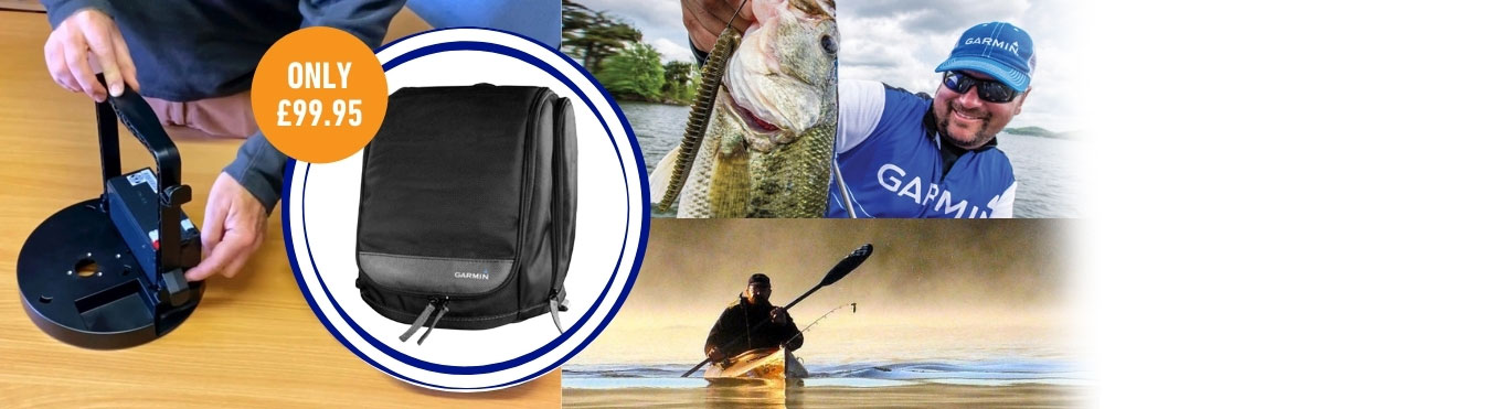 Take your Fishfinder anywhere