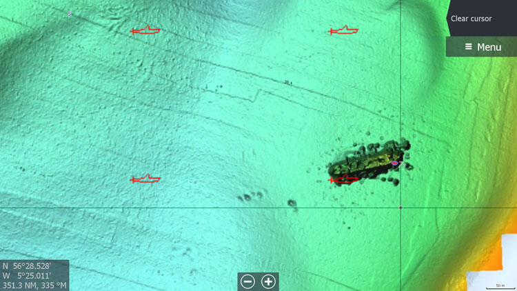 Wrecks – see striking images of wrecks on the sea bed
