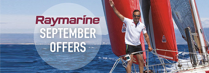 <br>SAVE up to £630 with Raymarine in September