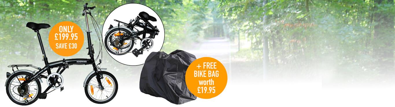 Folding Bike only £199.95