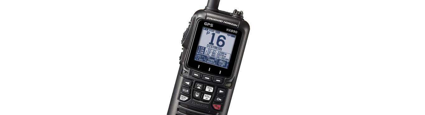 Registering a Handheld VHF DSC Radio
