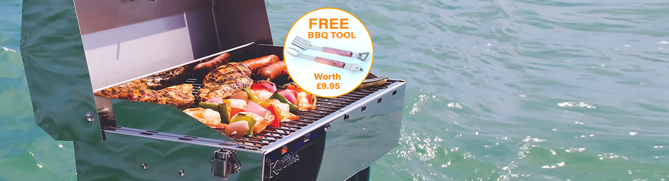FREE GIFT WITH BBQs*