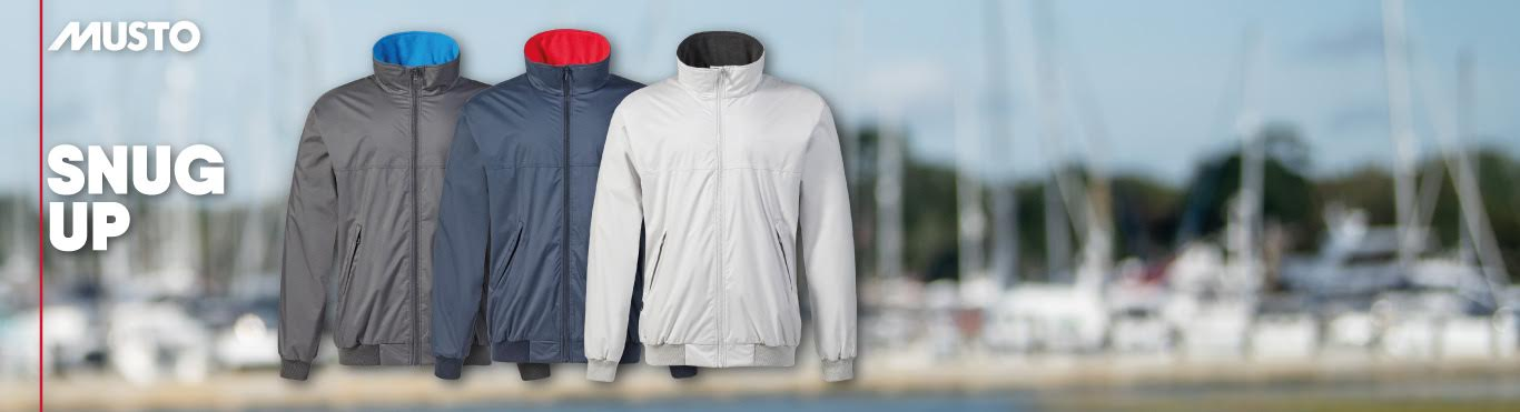 Just arrived - New Musto Snugs