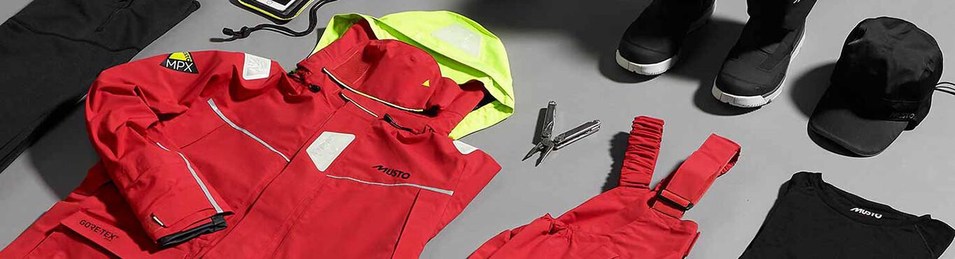 Marine Clothing by garment