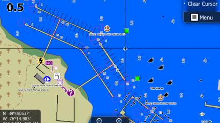 MAXN+LUK Marina and port plans