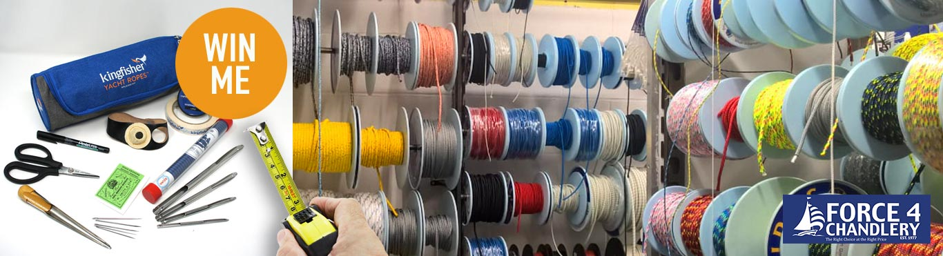 Do you know how many metres of rope we have at Force 4? Would you like to have a guess?