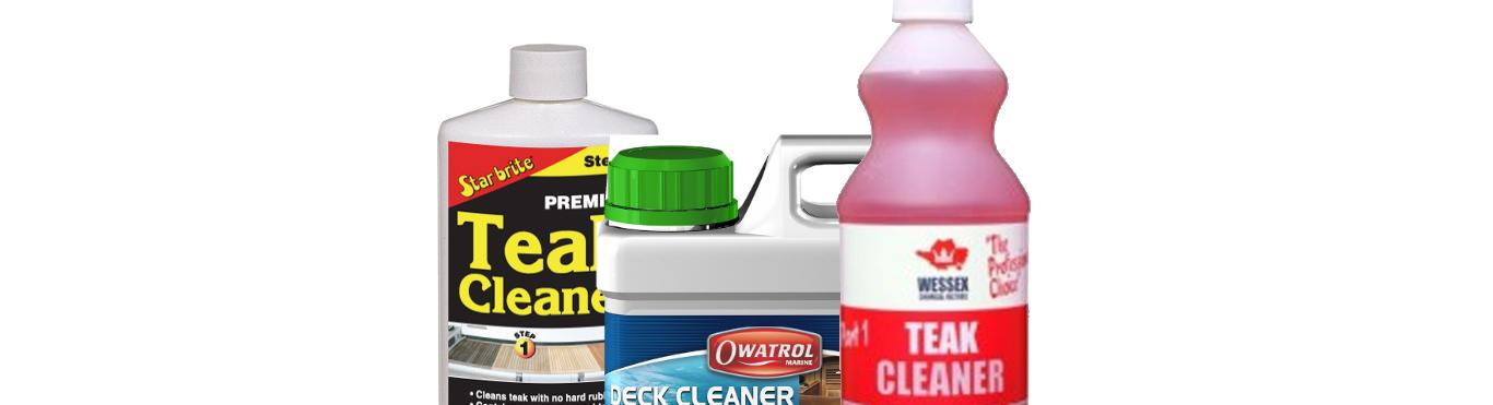 Teak Cleaners