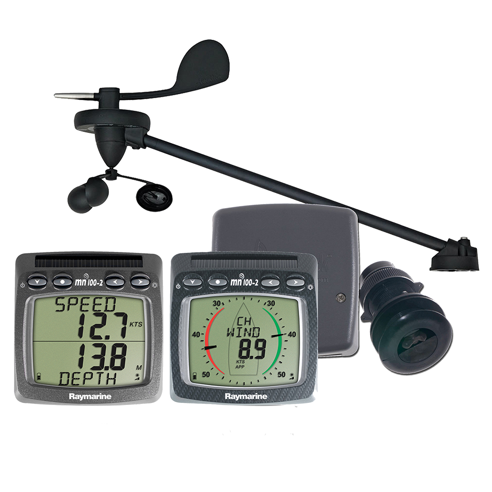 Wireless Speed Depth Wind System with Triducer