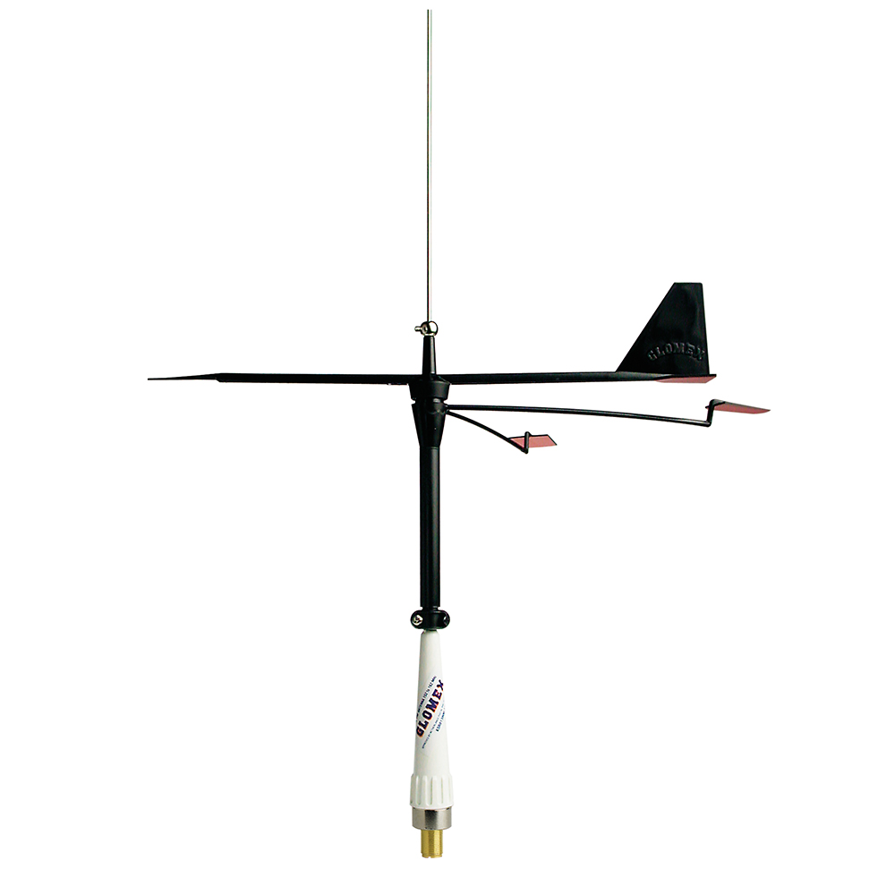 Stainless Steel Whip Antenna(230130) with Wind Indicator(230055)