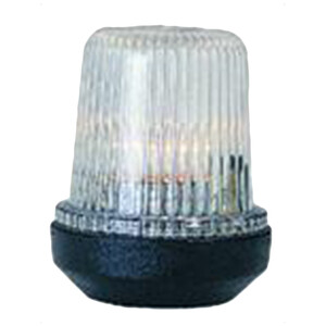 12m All Round White Nav Light (Black)