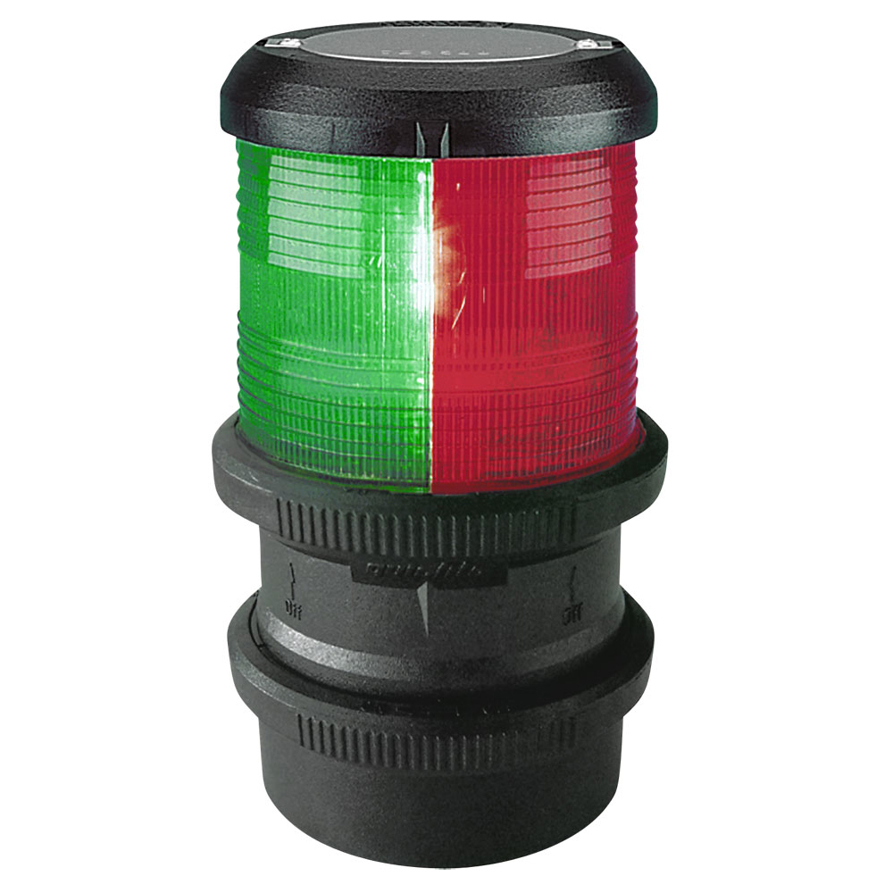 Aquasignal Series 40 Tri-Colour - Quickfit 12V Black