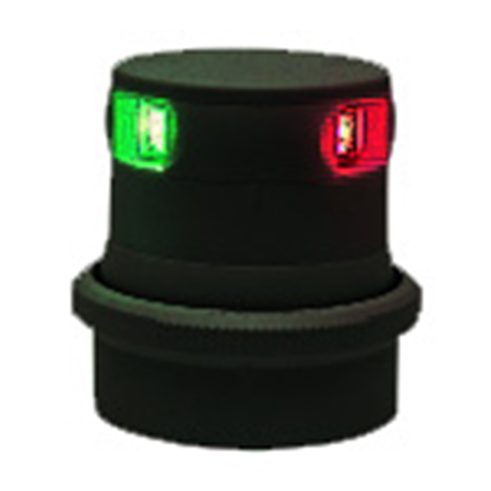 Aquasignal Series 34 LED Tri-Colour (12-24V Black)