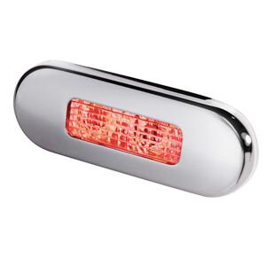 Stainless Steel Oblong LED Courtesy Light