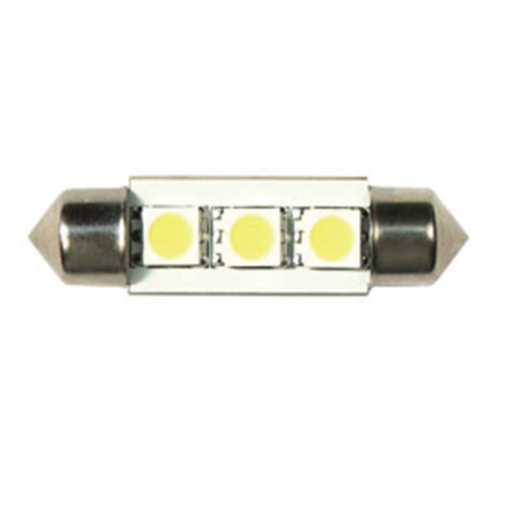 3 LED Festoon Bulb • 10W