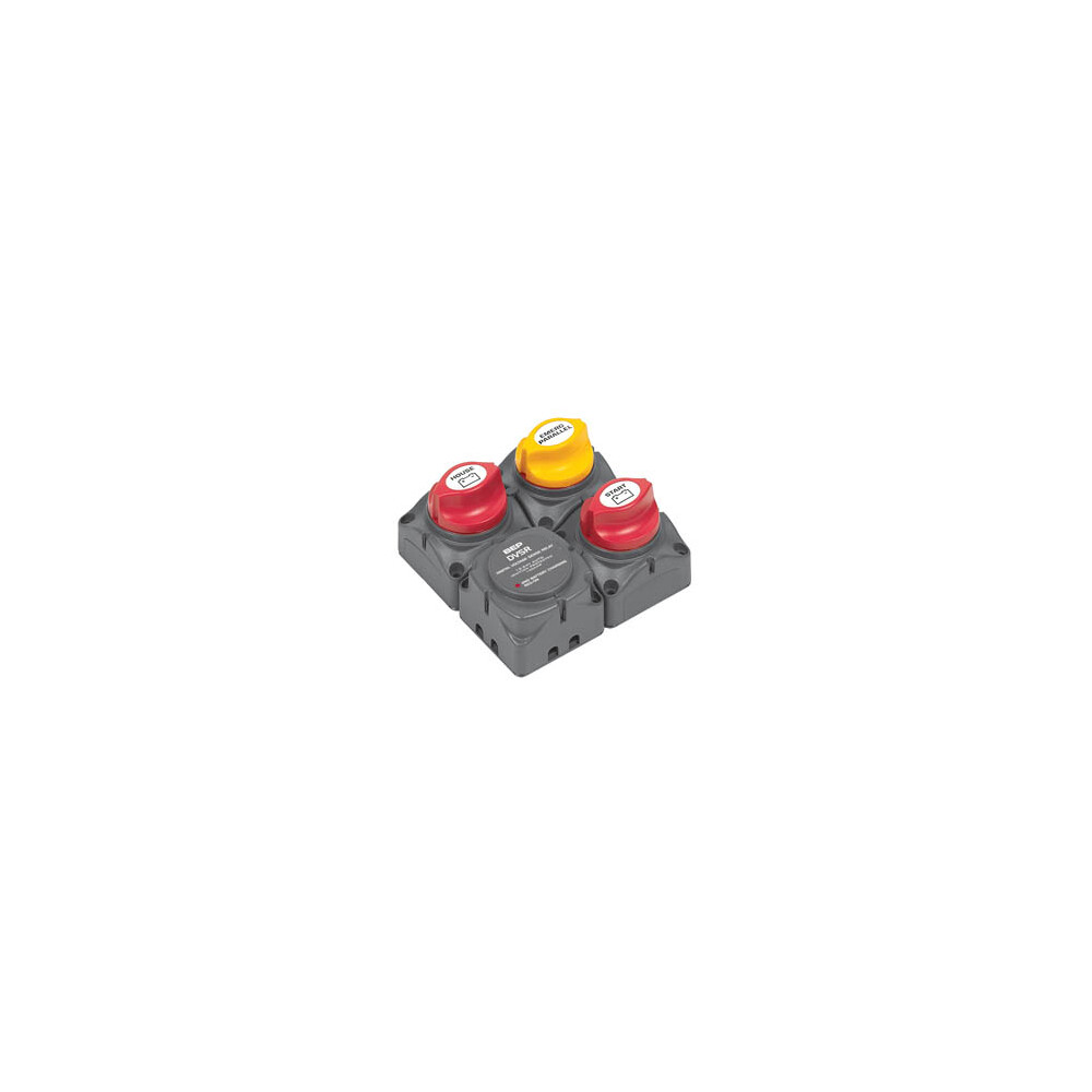 Dual Battery Single Engine DVSR Cluster