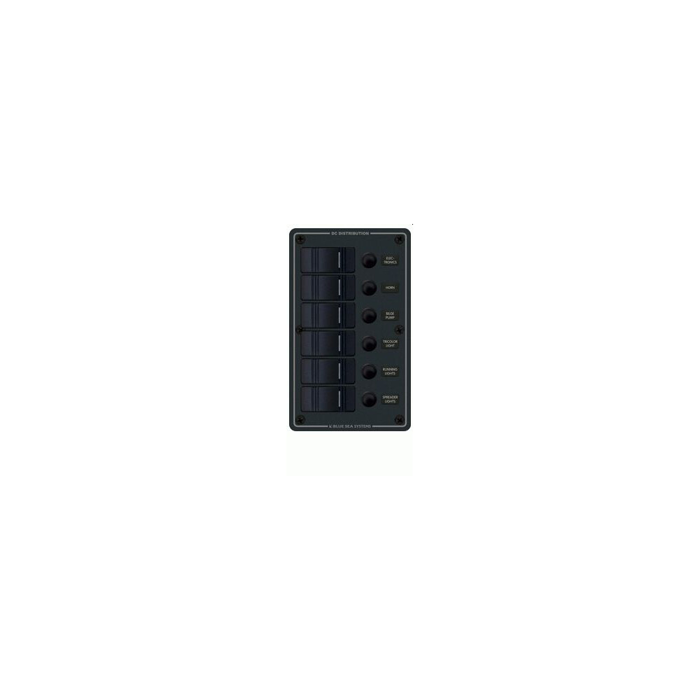 Contura Waterproof Circuit Breaker Panel 6 way