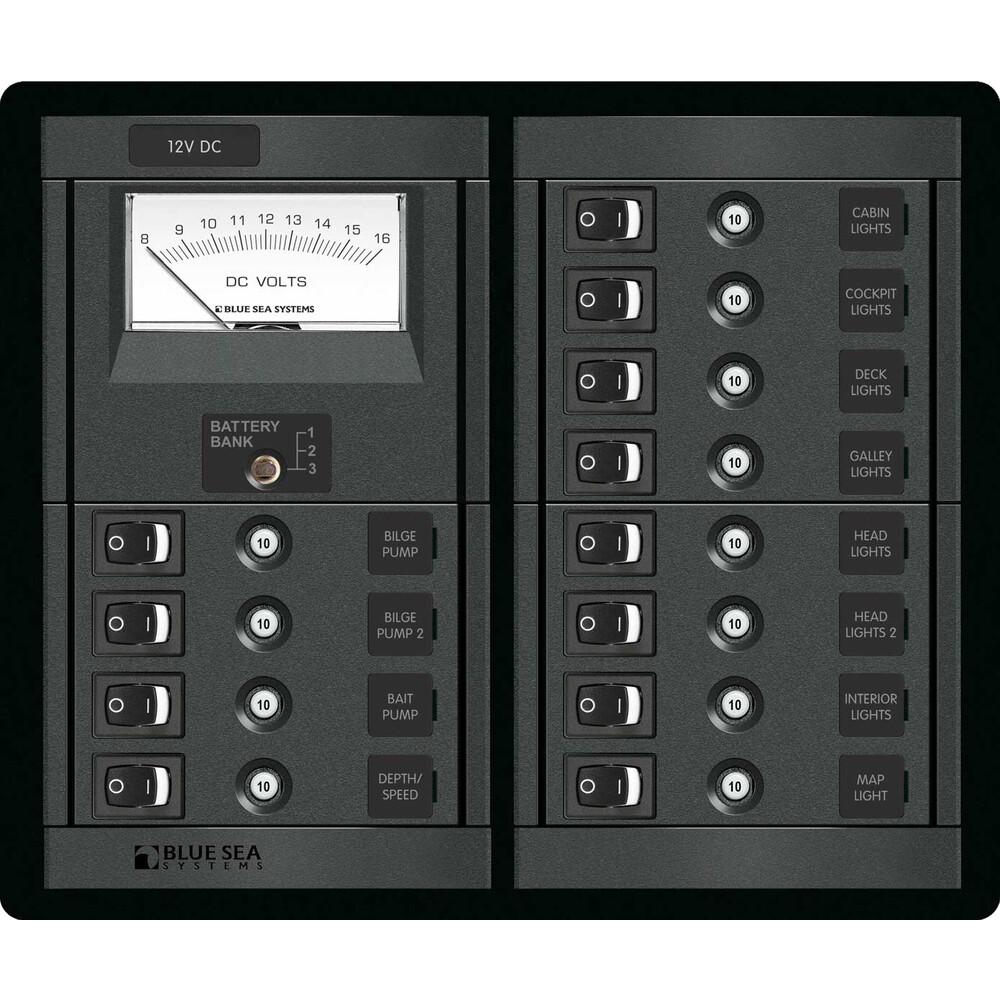 12 Way Circuit Breaker Panel