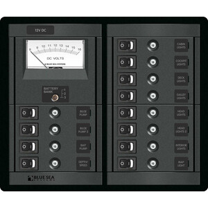 12 Way Circuit Breaker Panel