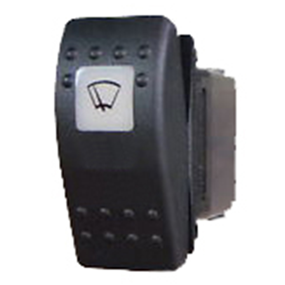 Illuminated Rocker Switch - Windscreen Wiper