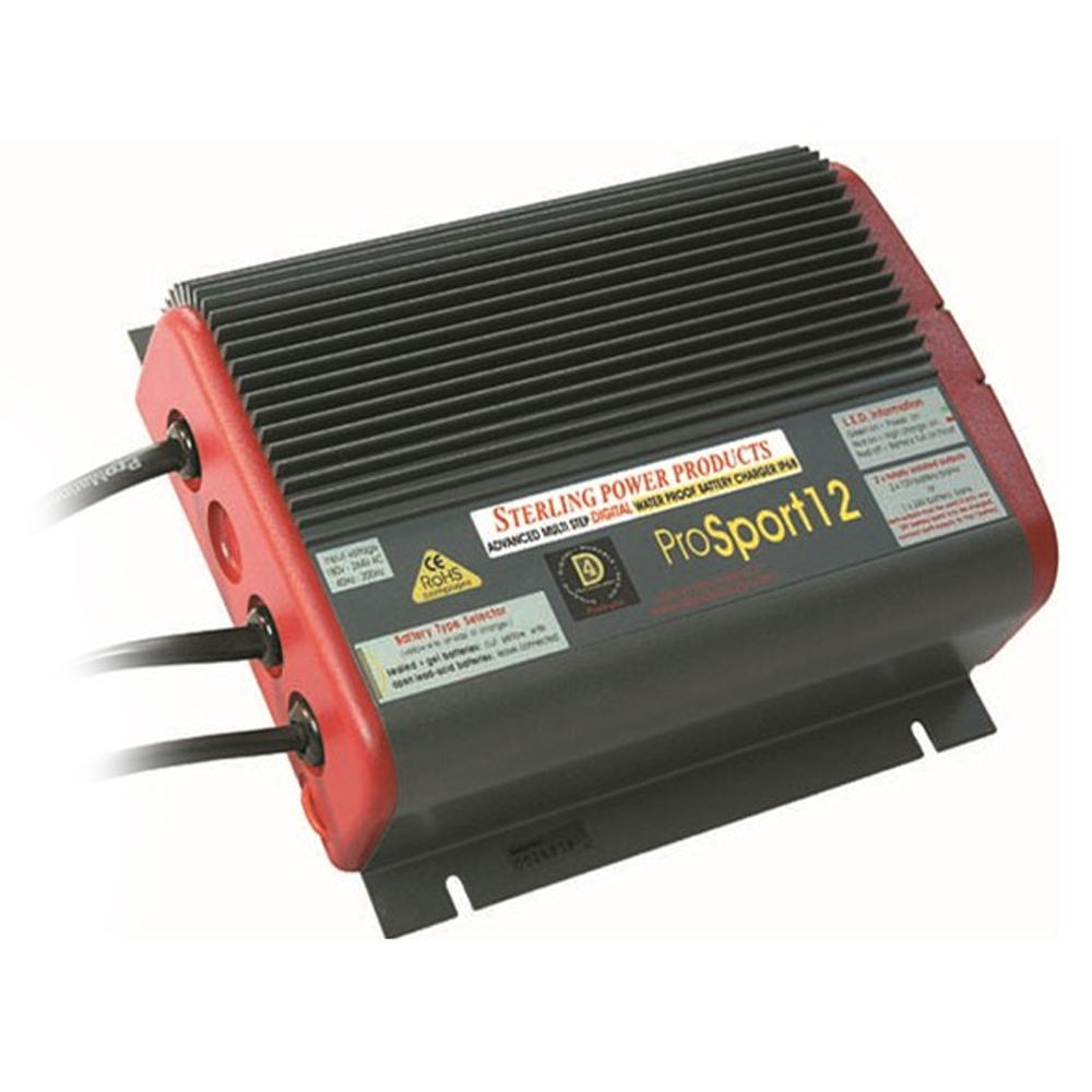 Pro Sport Waterproof Battery Charger 12V 20Amps