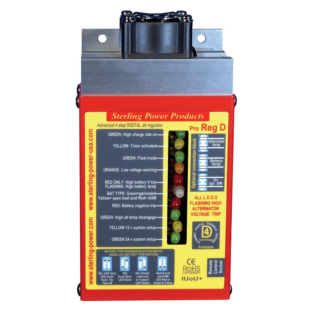 Pro Reg D Advanced Alternator Regulator
