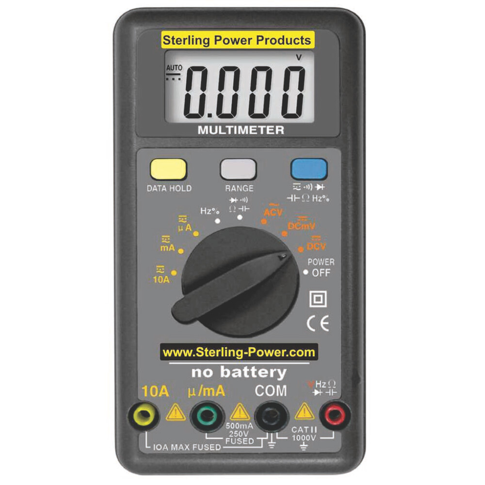 Wind-Up Multimeter