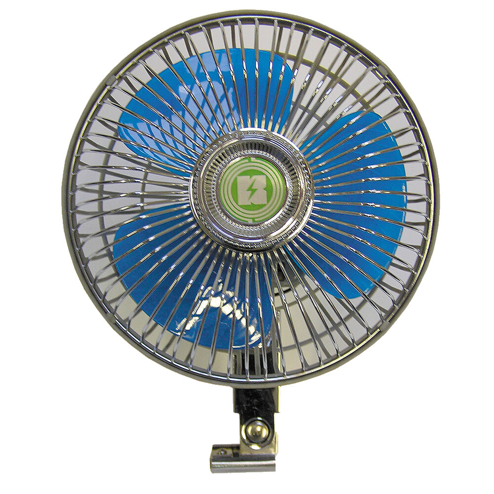 Oscillating 12 Volt Fan