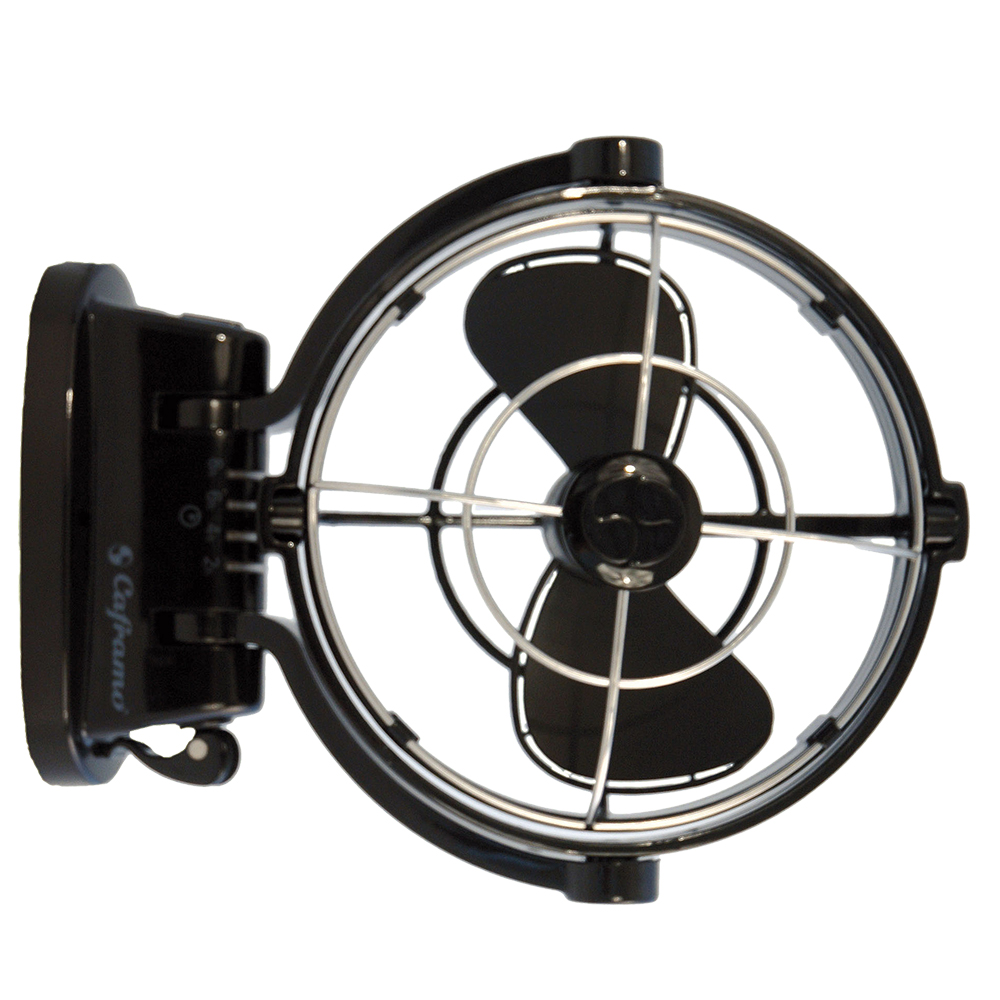 Sirocco Marine Fan 12V Black