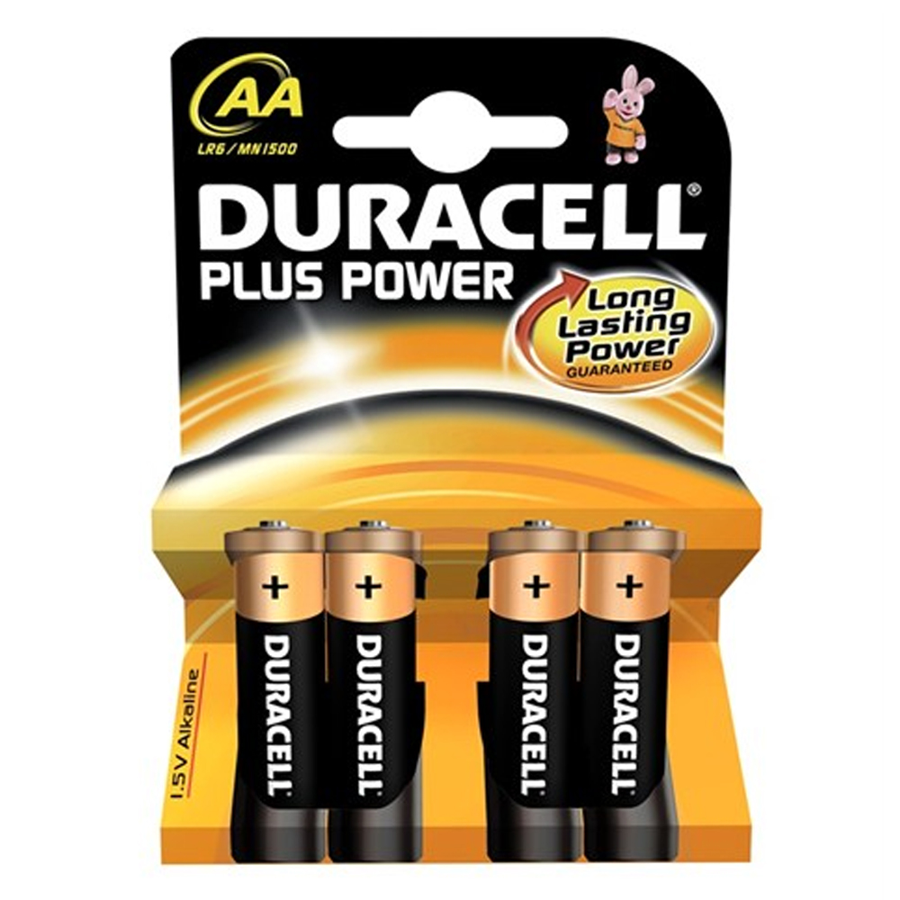 AA Batteries - 4 Pack (LR6/MN1500)