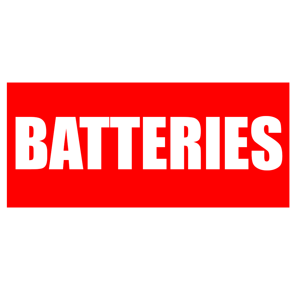Luminous Batteries Sticker