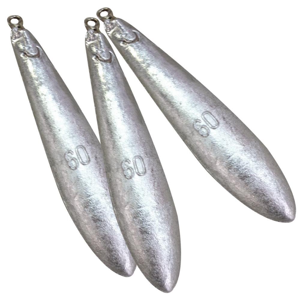60g Fishing Weights (3 Pack)